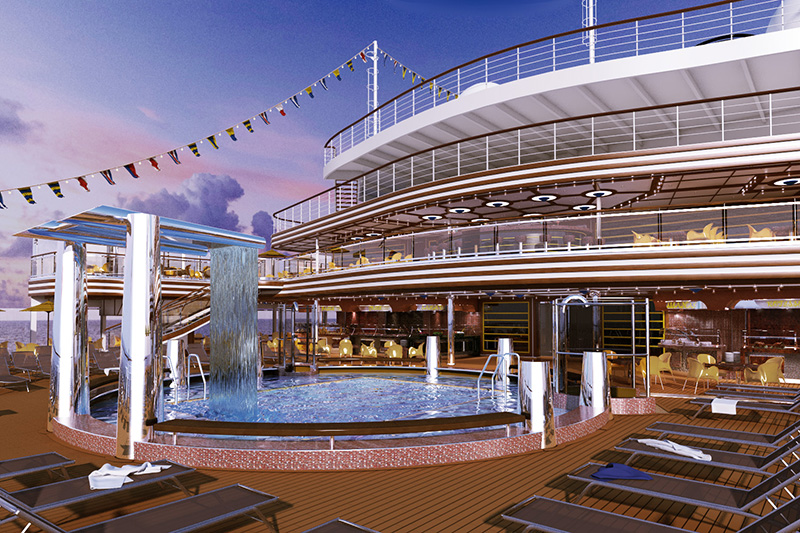 Cruises MSC SINFONIA - now,  the best price 460€